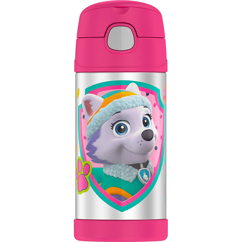 Thermos 12 oz FUNtainer Bottle: Paw Patrol Pink