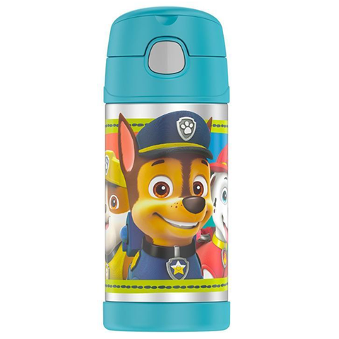Thermos 12 oz FUNtainer Bottle: Paw Patrol Teal