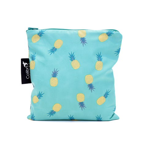 Colibri Large Reusable Snack Bag - Pineapple