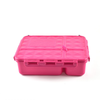 Go Green 4-Compartment Leakproof Break Box: PINK