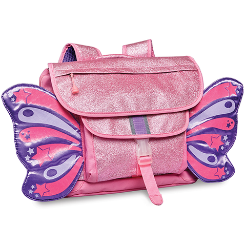 Bixbee Sparkalicious Butterflyer Backpack - Pink