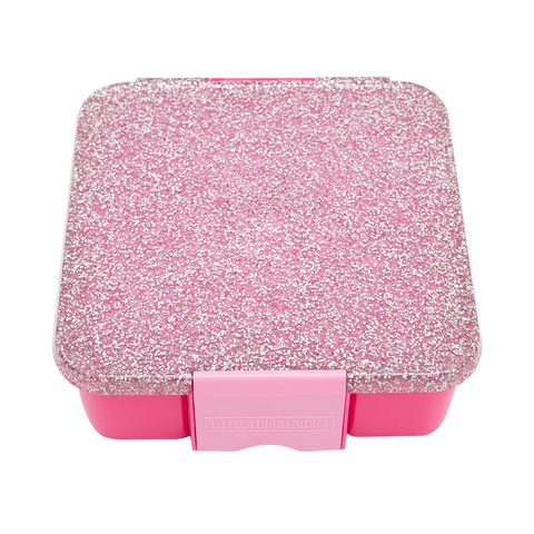 LIttle Lunch Box Co. Bento Five: Pink Glitter