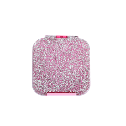 Little Lunch Box Co. Bento Two (Snack Size): Pink Glitter