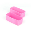 LLBC Rectangle Bento Cups - Pink (Set of 2)