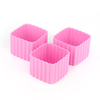 LLBC Square Bento Cups - Pink (Set of 3)