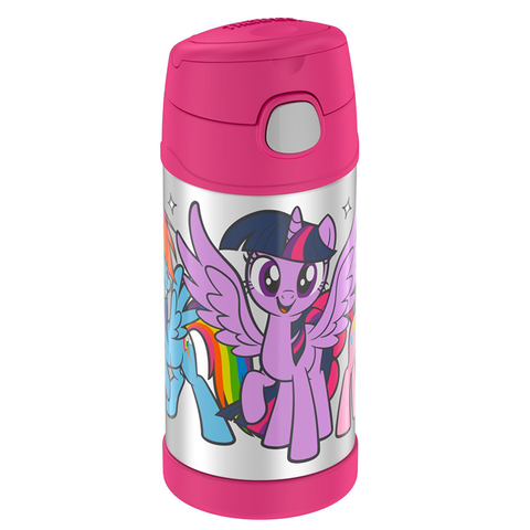 Thermos 12oz FUNtainer Straw Bottle: My Little Pony Pink