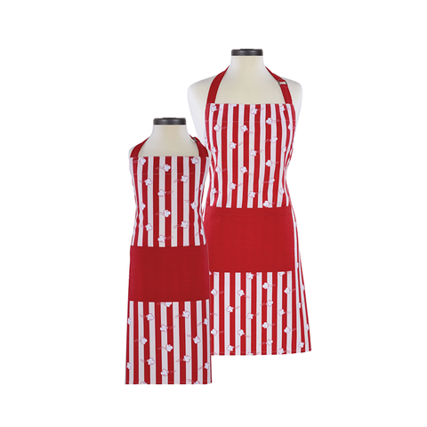 Handstand Kitchen Parent & Child Aprons (Boxed Set): Popcorn
