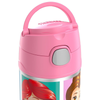Thermos 12oz FUNtainer Straw Bottle: Pink Princesses