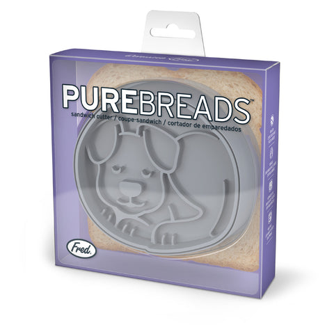 Fred & Friends Purebread Dog Sandwich Cutter & Sealer