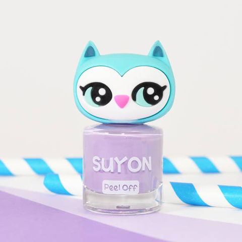 Suyon Purple Awesome Owlia Nail Polish