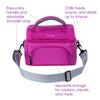 Bentgo Insulated 2-Compartment Lunch Tote - Purple