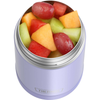 16oz Funtainer Food Jar with Spoon: Lavender