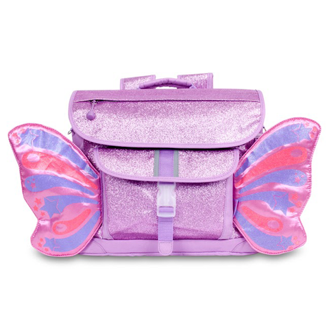 Bixbee Backpack: Sparkalicious Butterflyer Purple (Medium)