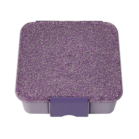 Little Lunch Box Co. Bento Three: Glitter Purple - Limited Edition
