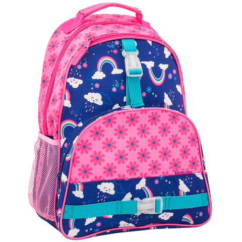 Stephen Joseph All Over Print Rainbow Backpack