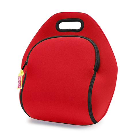 Dabbawalla Red Block Washable Lunch Bag