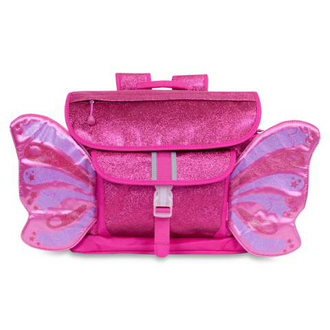 Bixbee Backpack: Sparkalicious Butterflyer Ruby Raspberry (Medium)