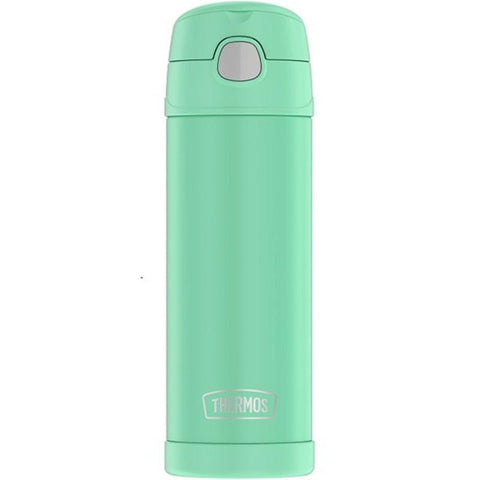 Thermos 16 oz FUNtainer Hydration Bottle with SPOUT: Sea Foam