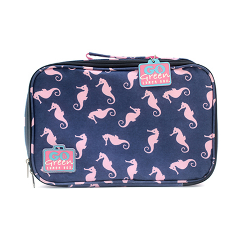 Go Green Insulated Carrying Case: Seahorse