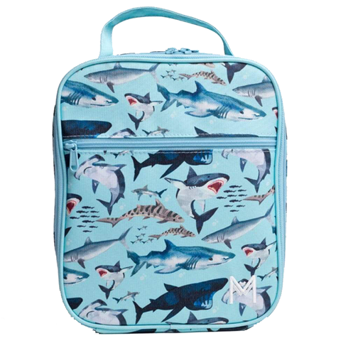 MontiiCo Insulated Lunch Bag (Ice Pack incl.) - SHARK