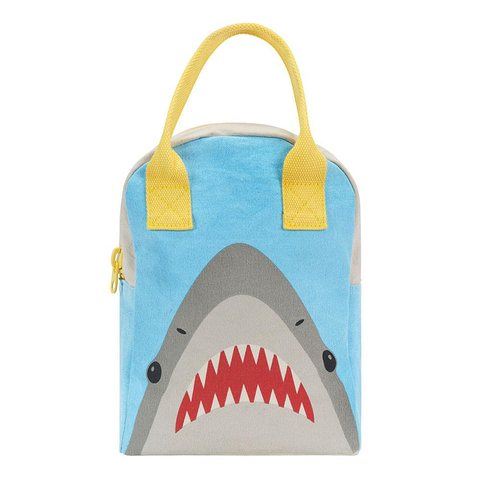 Fluf SHARK Zipper Lunch Bag