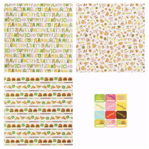 Torune Hamburger & Sandwich Sheets