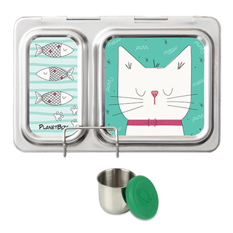 PlanetBox Shuttle with One Sililid Tall Dipper & Free Cats Magnets