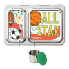 PlanetBox Shuttle with One Sililid Tall Dipper & Free Sports Magnets