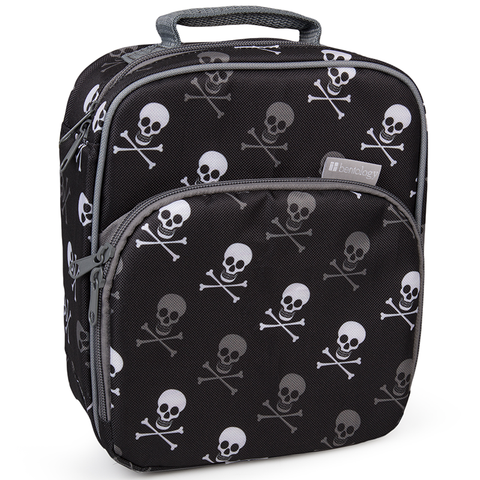Bentology Insulated Lunch Tote: Skulls