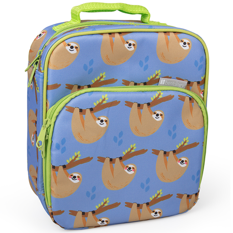 Bentology Insulated Lunch Tote: Sloths