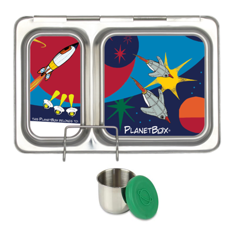 PlanetBox Shuttle with One Sililid Tall Dipper & Free Space Ships Magnets