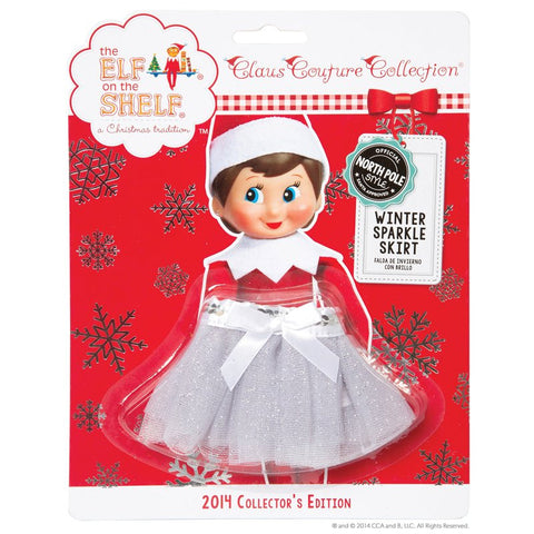 Elf On The Shelf® Winter Sparkle Skirt