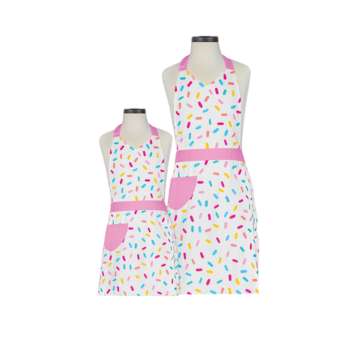 Handstand Kitchen Parent & Child Aprons (Boxed Set): Sprinkles