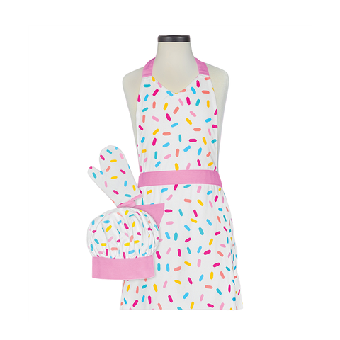 Handstand Kitchen Deluxe Baking Outfit for Children (Boxed Set): Sprinkles