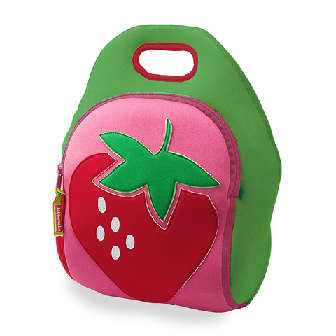 Dabbawalla Strawberry Fields Washable Lunch Bag