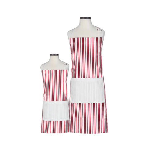 Handstand Kitchen Parent & Child Aprons (Boxed Set): Classic Striped