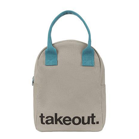 Fluf TAKEOUT Zipper Lunch Bag
