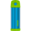 Thermos 16 oz FUNtainer Hydration Bottle with SPOUT: Teal