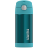 Thermos 12oz FUNtainer Straw Bottle: Teal