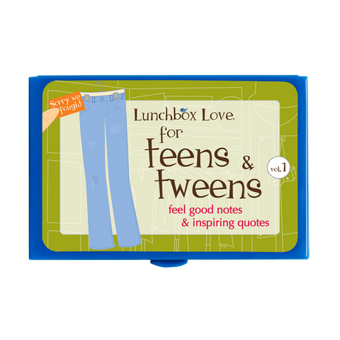 Lunchbox Love® For Teens: Teens & Tweens Volume 1
