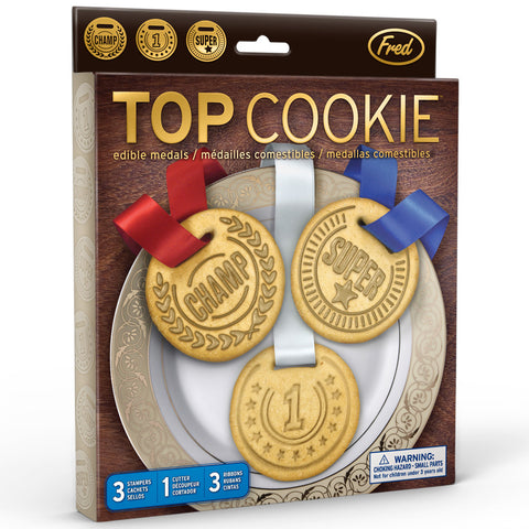 Fred & Friends Top Cookie Cookie Cutters