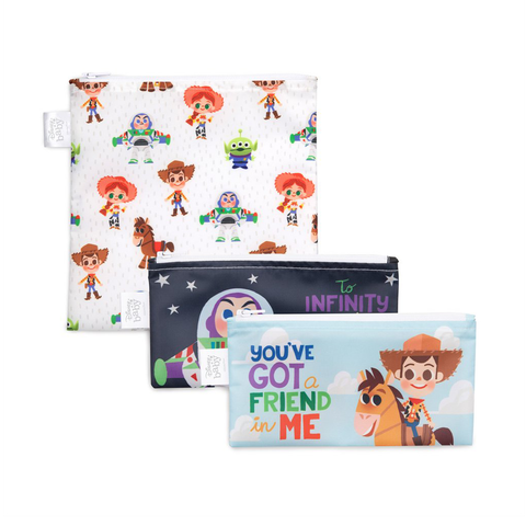 Bumkins Reusable Snack Bags (3 pack): Toy Story