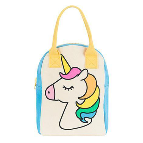 Fluf UNICORN Zipper Lunch Bag
