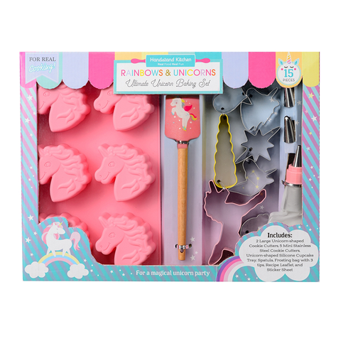 Handstand Kitchen Ultimate Unicorn Baking Set (15 Pieces)