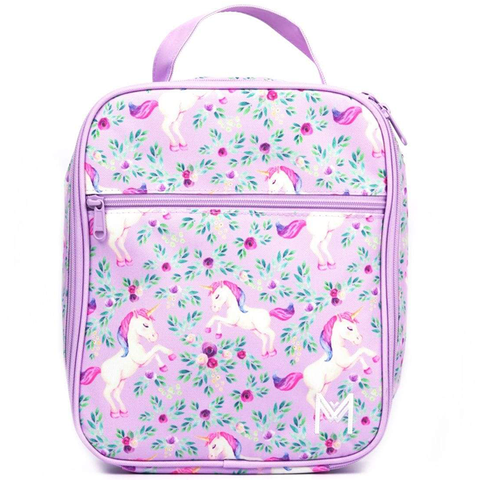 MontiiCo Insulated Lunch Bag (Ice Pack incl.) - UNICORN II