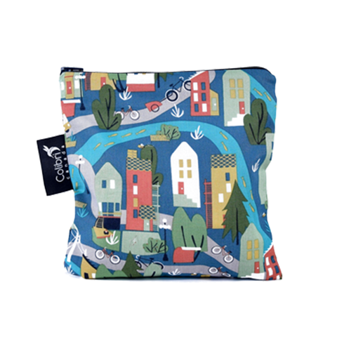 Colibri Large Reusable Snack Bag - Urban Cycle