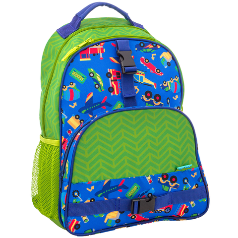 Stephen Joseph All Over Print Transportation Backpack