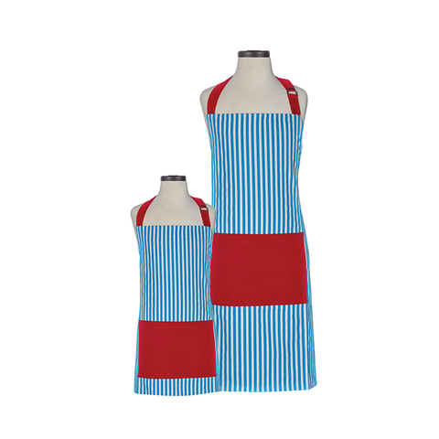 Handstand Kitchen Parent & Child Aprons (Boxed Set): Whimsy Striped