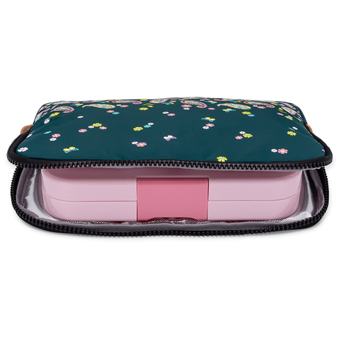 POCHE Insulated Yumbox Sleeve: Woodland Paisley
