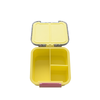 Little Lunch Box Co. Bento Two (Snack Size): Yellow Glitter
